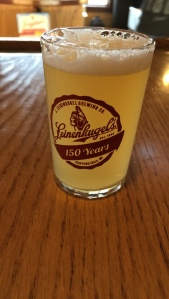 Leinenkugel glass